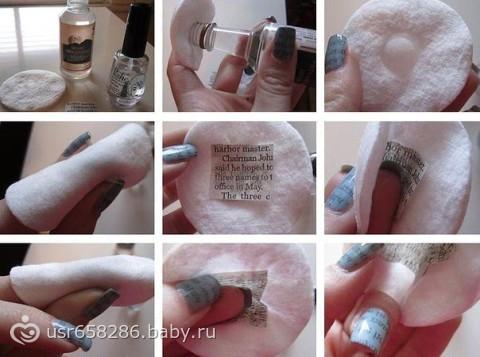 простых рисунков на ногти