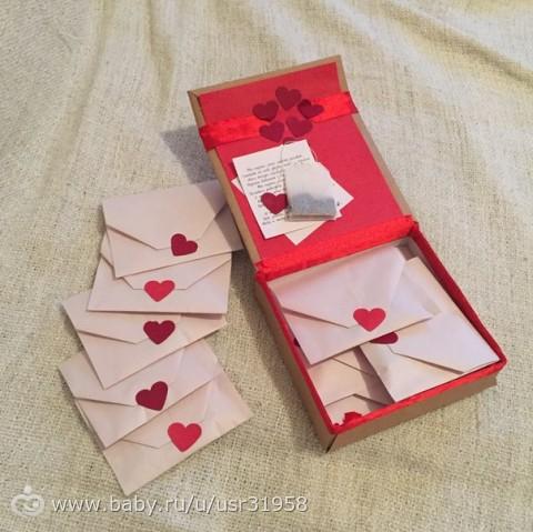 Какой подарок сделать своими руками мужу на 14 февраля доставка цветов в соликамск