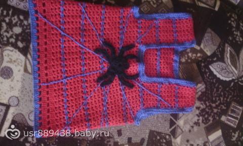 "крючком ""Человек-паук"""