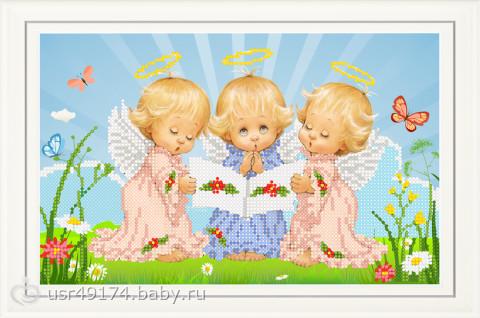 три ангела(мальчик) там