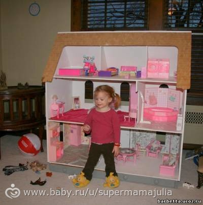 Дом для Барби своими руками.