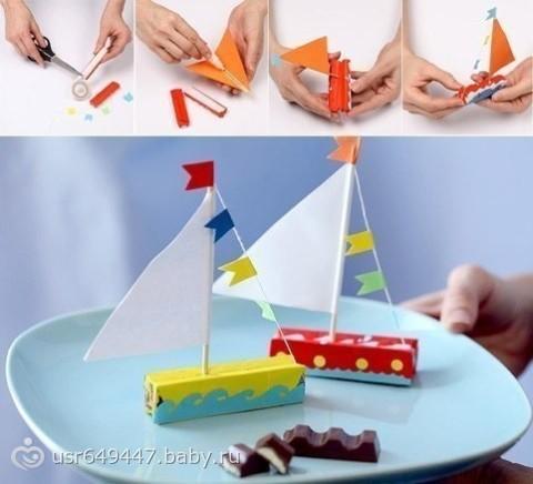 кораблик для рыбалки своими руками видео