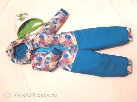 Комбинезон для моей стрекозюли))))) ну, и шапочка туда же...