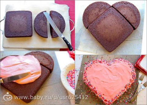 Как сделать формочку для торта своими руками