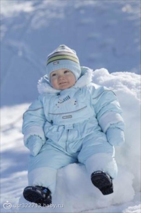 Какую зимнюю одежду купить для малыша