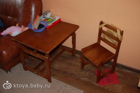 Стол и стул фея растем вместе купить