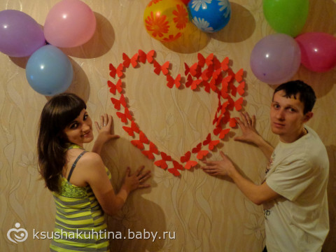 Как украсить квартиру своими руками на годовщину свадьбы