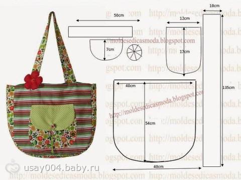 Пошив сумки в домашних условиях