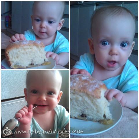 Маленькая хозяюшка)))