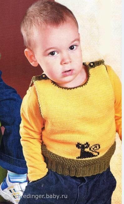 Детские жилеты и безрукавки вязаные спицами и крючком. Журнал по вязанию. вязание для женщин