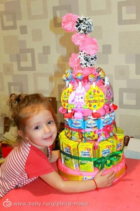 Подарок на день рождения ребенку 3 года девочка