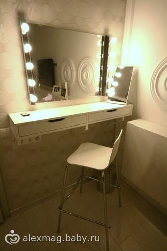 Как сделать трельяж зеркало