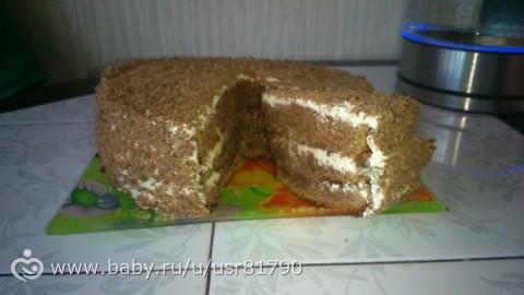 Торт черный граф рецепт с пошагово