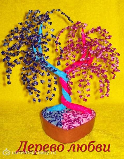 Мастер класс как сделать дерево из бисера Оранжевое настроение Цветы и деревья из бисера мастер классы.