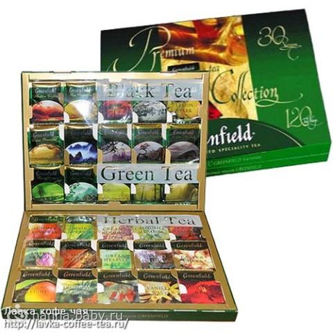 Подарочный набор чая гринфилд 120