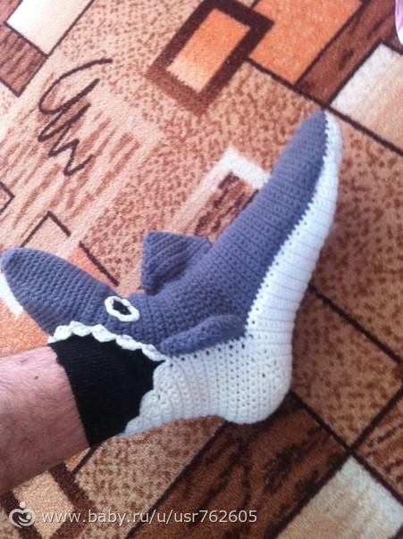 Носки акулы