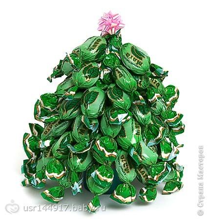 Легкие игрушки на елку из бумаги