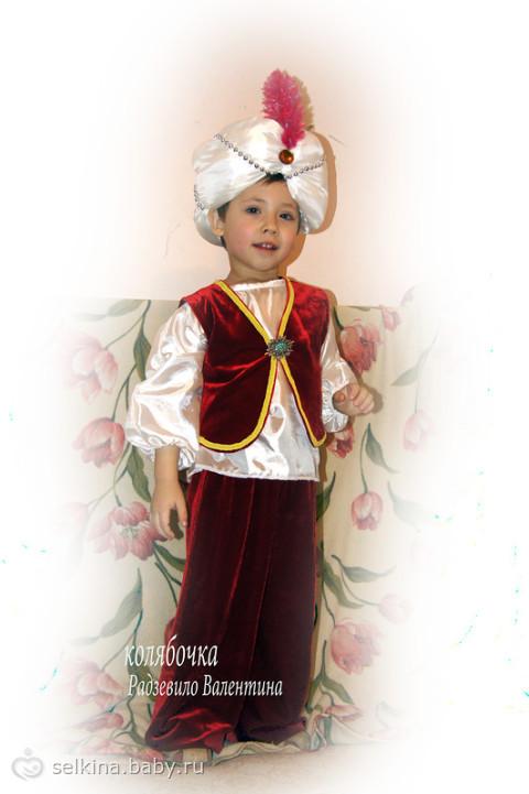 Костюм султана на юбилей
