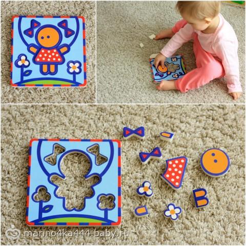 Игрушки детям от 7 месяцев своими руками