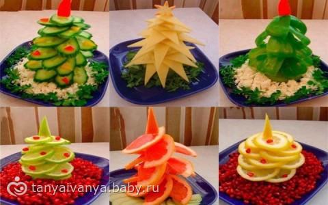 Украсить праздничный стол рецепты фото