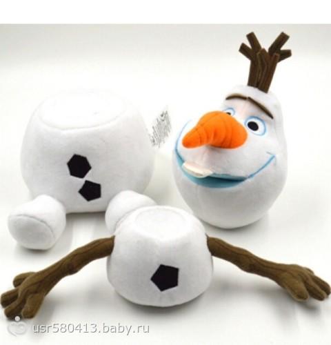 Как сшить снеговика олафа