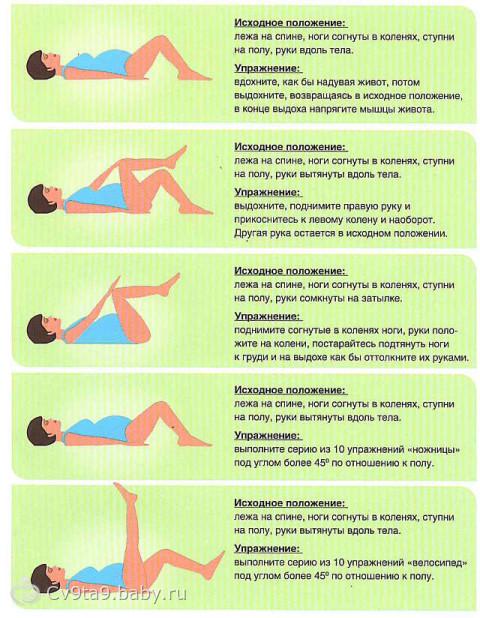 какую можно делать гимнастику при спайки