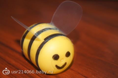 Пчелки из киндер сюрприза