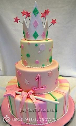 Фото торта кукла