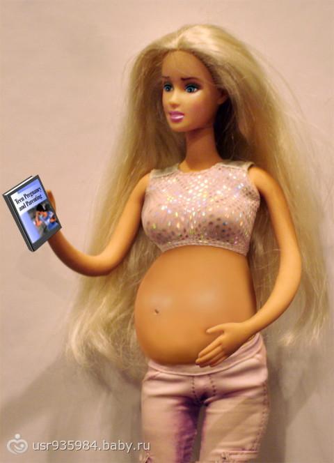 Фото беременной барби с