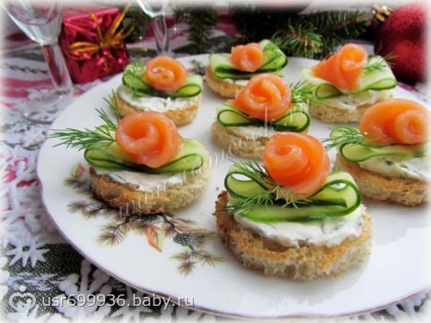 Лучшие бутерброды рецепты на праздничный стол