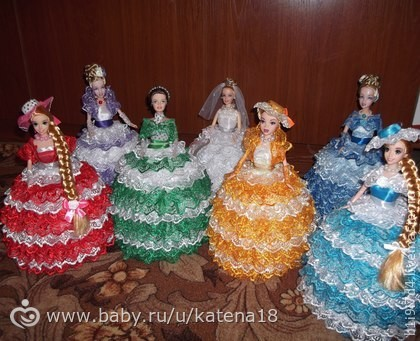 Мастер-класс кукла шкатулка