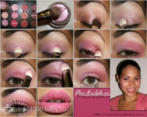 Уроки нанесения макияжа в домашних условиях