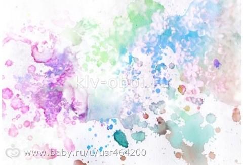 Как сделать красивый фон красками на бумаге