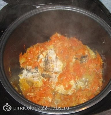 Рецепт горбуши со сметаной на сковороде