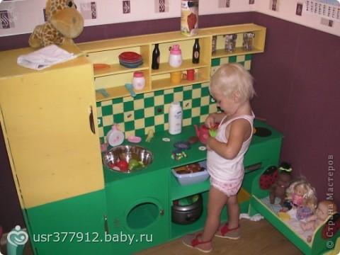 Детские кухни из фанеры своими руками