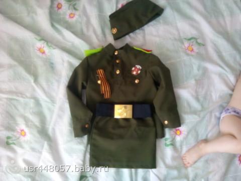 как сшить военную форму для мальчика