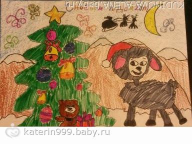 Новый год глазами детей картинки