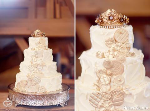 Свадебные королевские торты фото