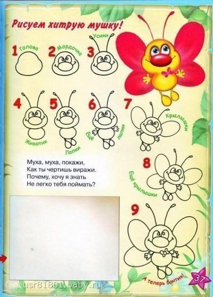 Учиться рисовать все для детей 10 лет