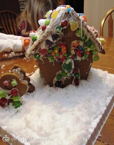 Как сделать снег для поделок 4