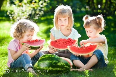 Детское меню: можно ли давать арбуз