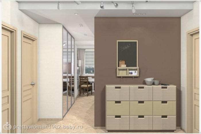 П-44 2-х комнатная квартира дизайн