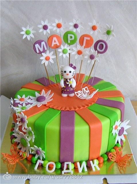Сделать торт своими руками ребенку на год