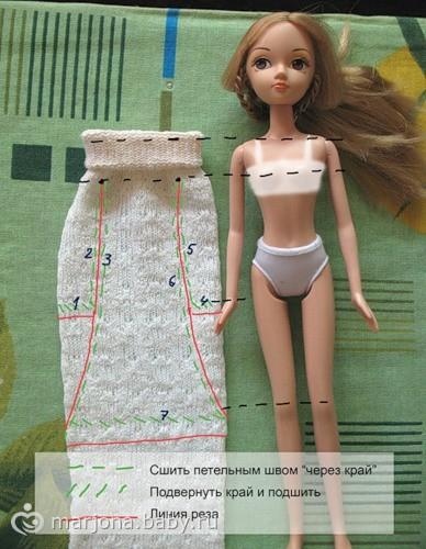 Как сделать модель куклы