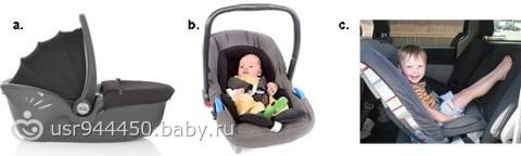 Как правильно сажать ребенка в автолюльку в 1 месяц 98