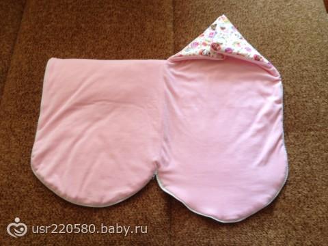 Конверт для новорожденного своими руками (фото выкройка)