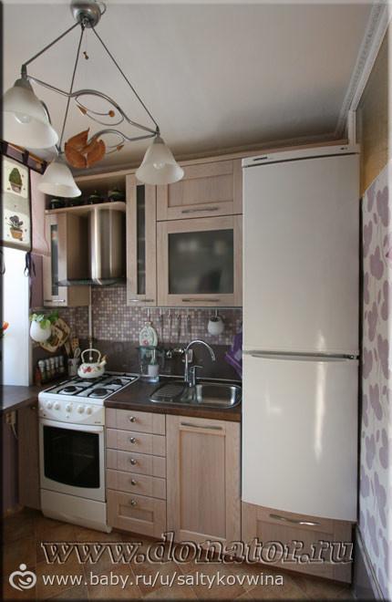 как обустроить кухню 5 кв.м фото