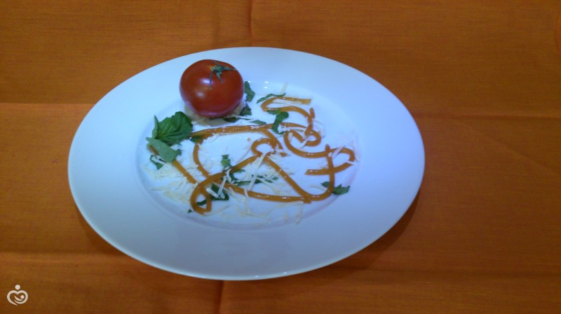 Молекулярная кухня, томатный суп