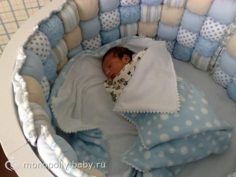Как сшить бортик для детской кроватки