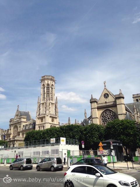 Поездка с годовалым ребенком во Францию